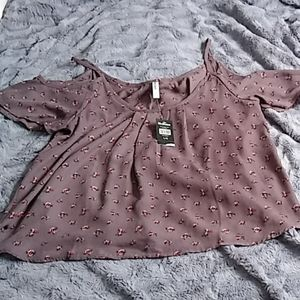 Bluenotes blouse size large new with tags